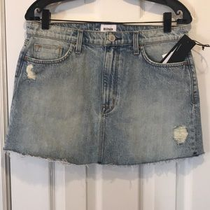 Hudson vivid mini skirt size 28